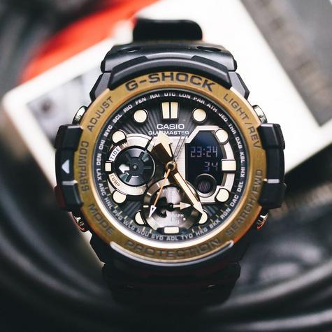 Casio G-shock Gulfmaster 53.4mm Marine Watch|Tide Graph|Storm Alarm|Compass|NEW| Thumbnail 1