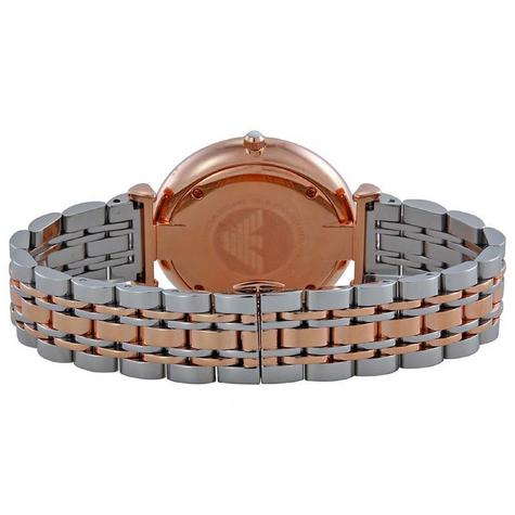 Emporio Armani Men's Stainless Steel Rose Gold Bracelet Sunray Dial Watch AR1677 Thumbnail 4