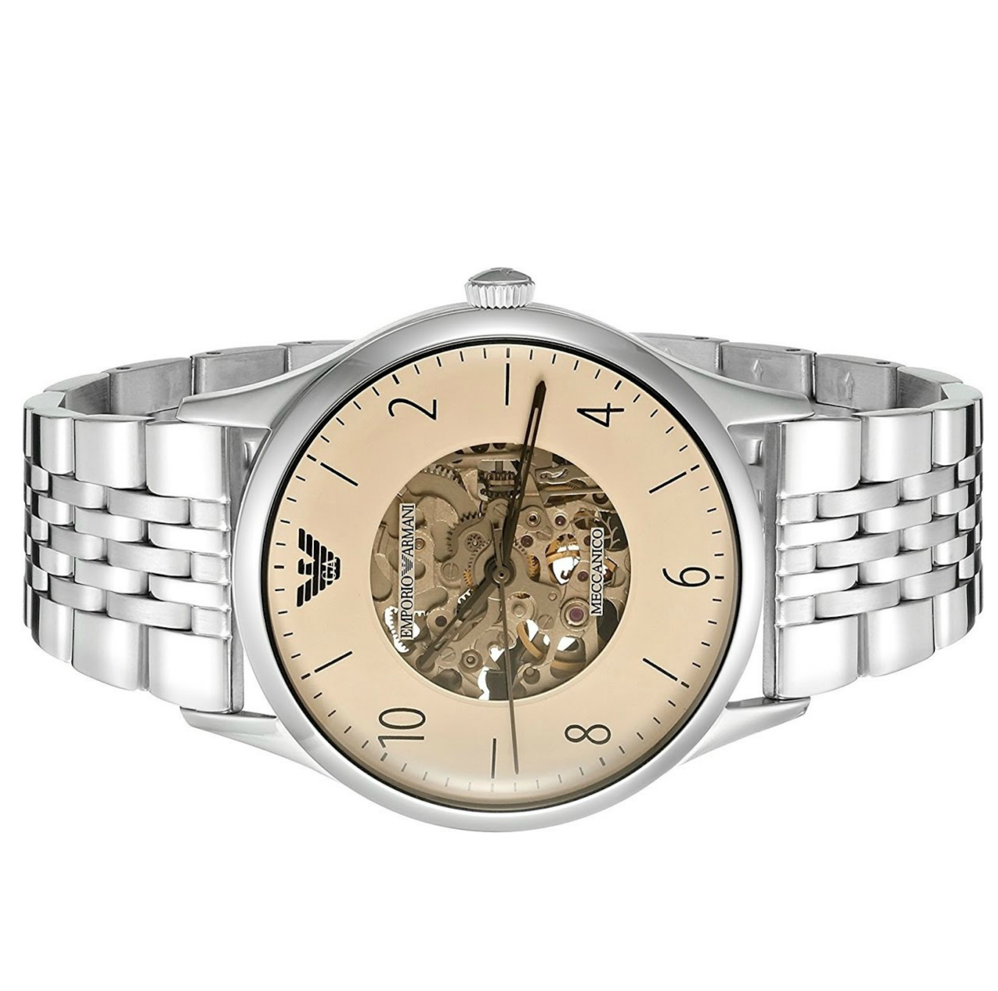 b6f0b3c3e0a Emporio Armani MECCANICO Series Men s Automatic Stainless Steel Watch AR1922  Thumbnail 2