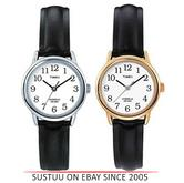 Timex Women T20433 T20441 Easy Reader Indiglo Classic Leather Strap Watch