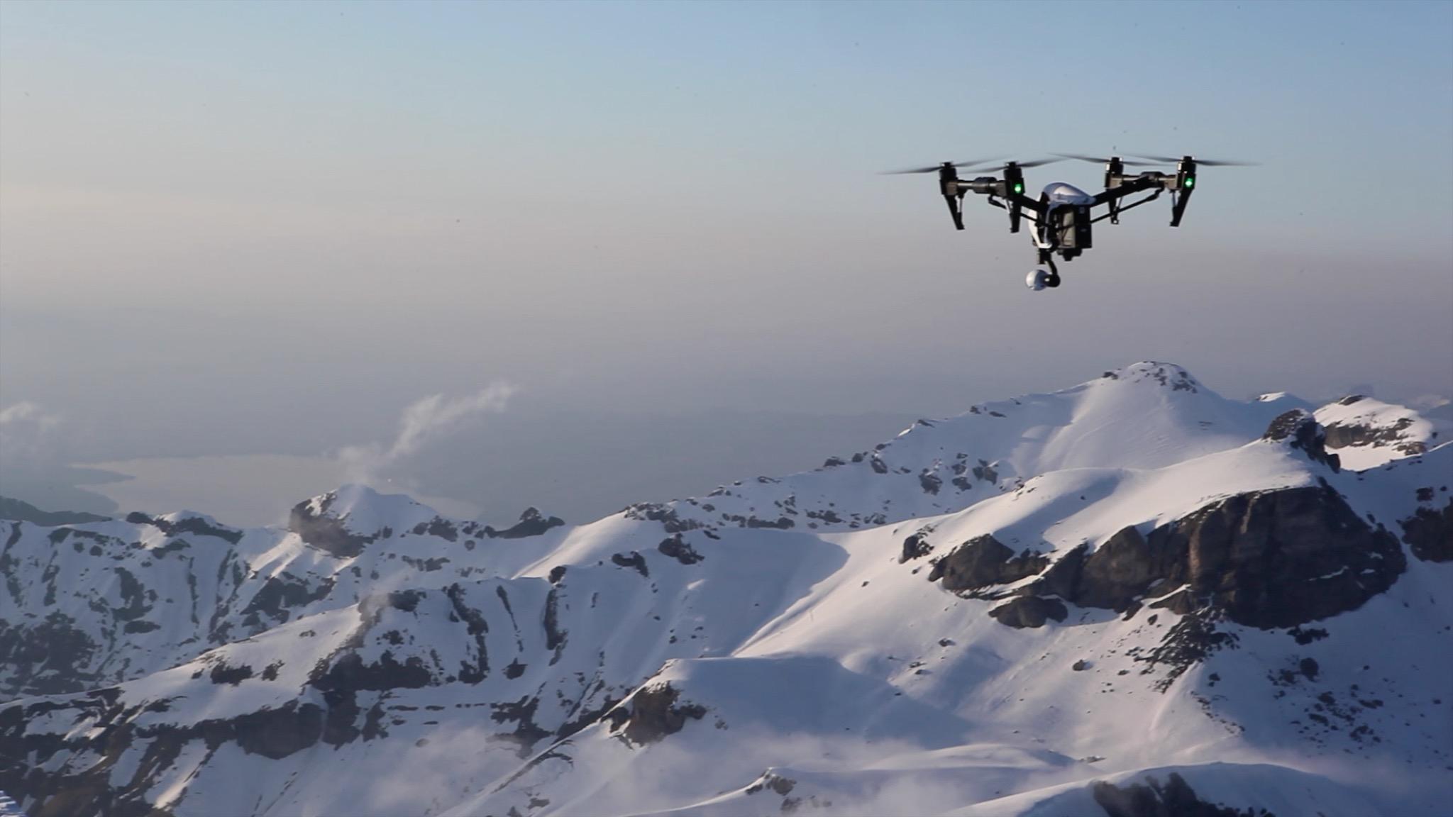 Sentinel DJI Inspire 1 V20 Drone 12MP 4K HD 360View