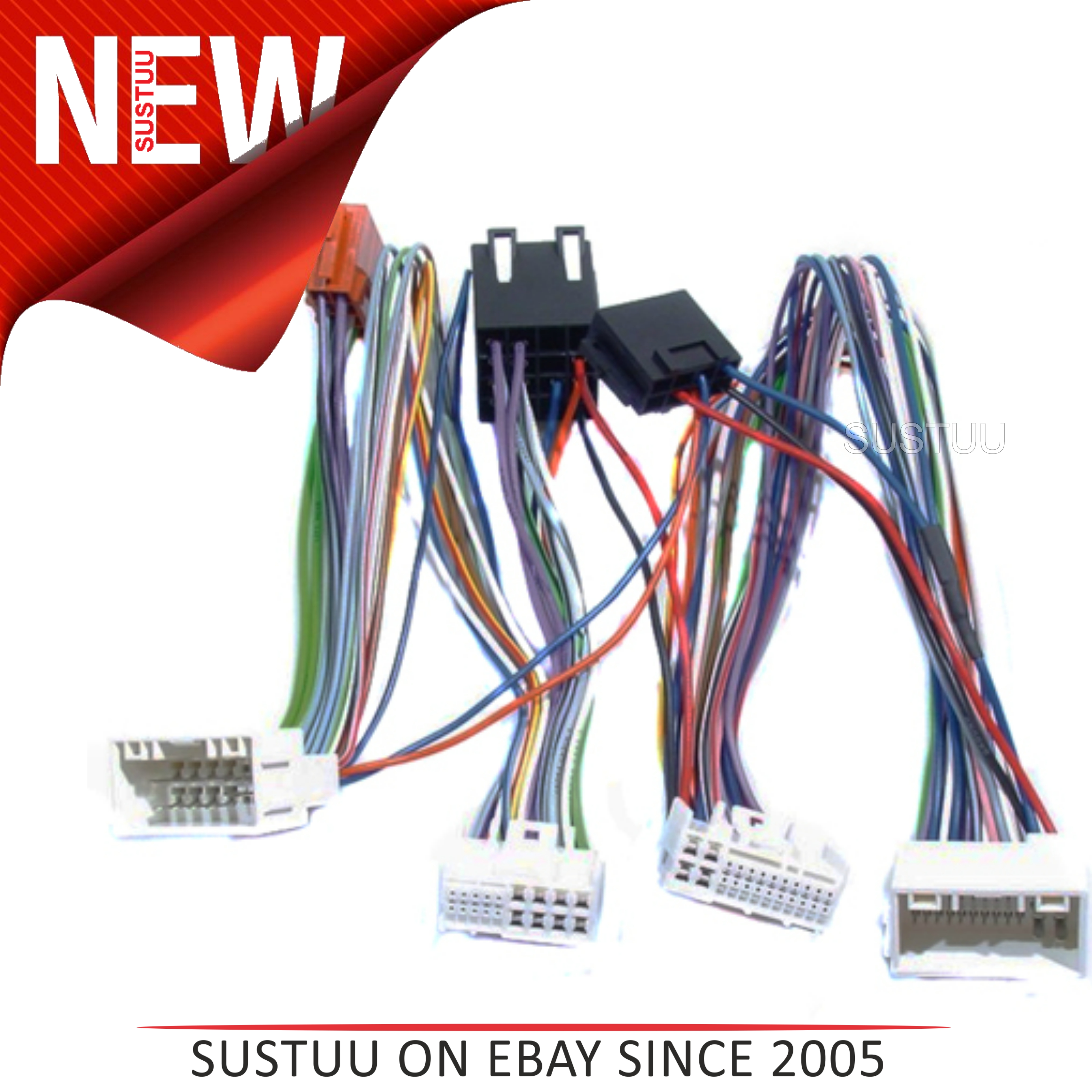 Iso Mute Adaptor Leadwiring Cableconnecting Plugfor Hyundai Wiring Messages Sentinel Ix35isohyundai3