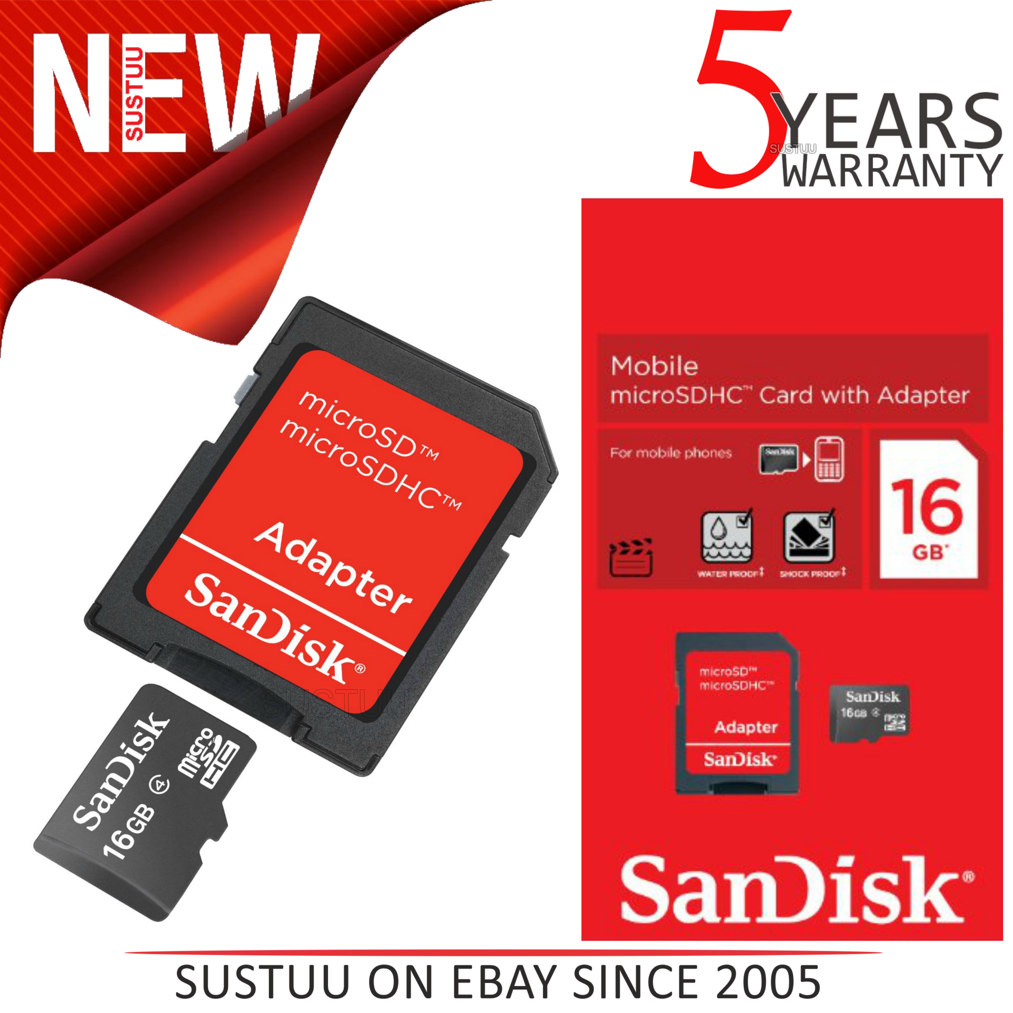 how to use sandisk microsdhc card with adapter