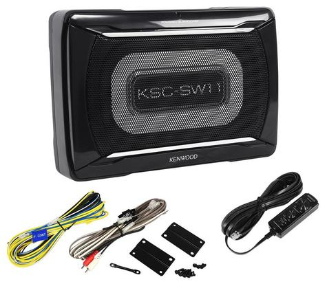 KENWOOD KSC SW11 In car Sound Vehicle Audio Speaker Subwoofer Thumbnail 2