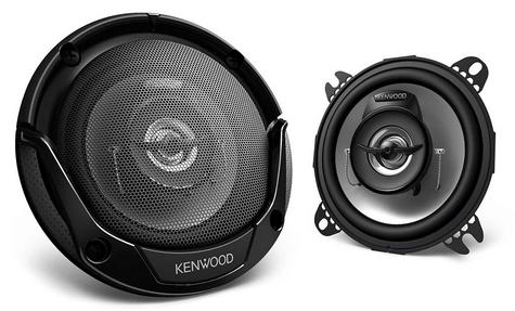 KENWOOD KFC E1065 100mm In Car Vehicle Audio Sound Speaker Thumbnail 2