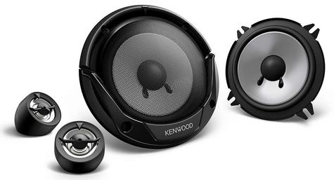 "KENWOOD KFC-E130P 13cm 5.25"" 250W In Car Vehicle Audio Component System Speakers Thumbnail 2"