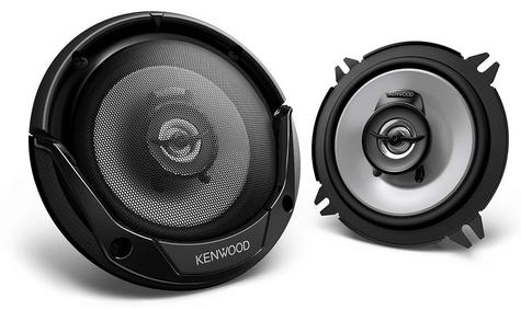 KENWOOD KFC E1365 130mm 3 Way In Car Vehicle Audio Sound Speaker Thumbnail 1