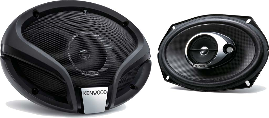 KENWOOD KFC M6934A 3 Way Flush Mount In Car Vehicle Audio Sound Speaker