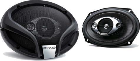 KENWOOD KFC M6944A 3 Way Flush Mount In Car Vehicle Audio Sound Speaker Thumbnail 2