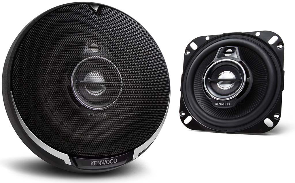 KENWOOD KFC PS1095 100mm 3 Way In Car Vehicle Audio Sound Speaker