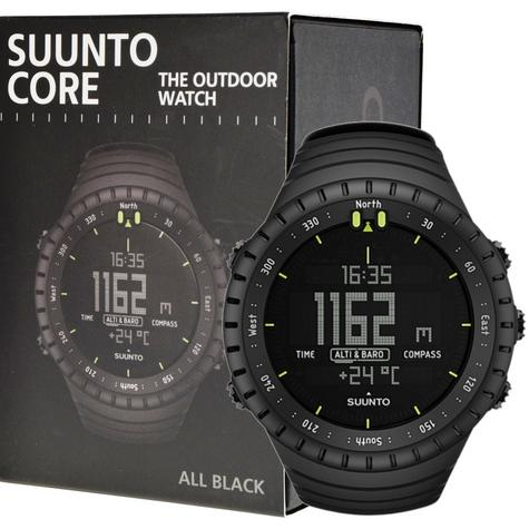 Suunto Core ALL BLACK Outdoor Military Altimeter Barometer Compass Sports Watch Thumbnail 6