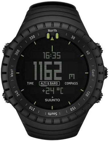 Suunto Core ALL BLACK Outdoor Military Altimeter Barometer Compass Sports Watch Thumbnail 8
