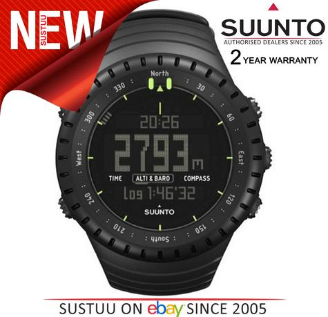 Suunto Core ALL BLACK Outdoor Military Altimeter Barometer Compass Sports Watch Thumbnail 2