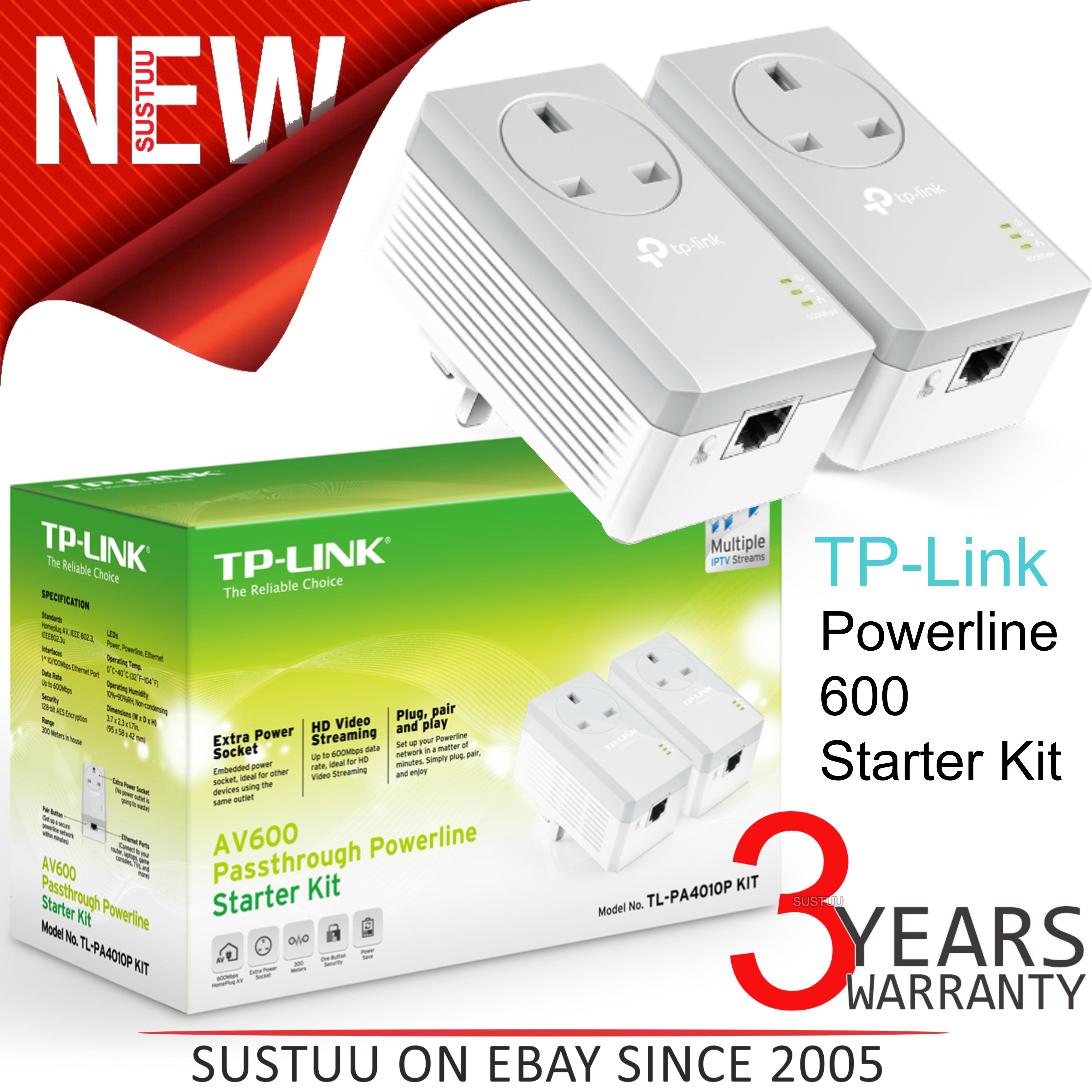 TP-Link TL-PA4010P v2 Powerline Drivers Mac