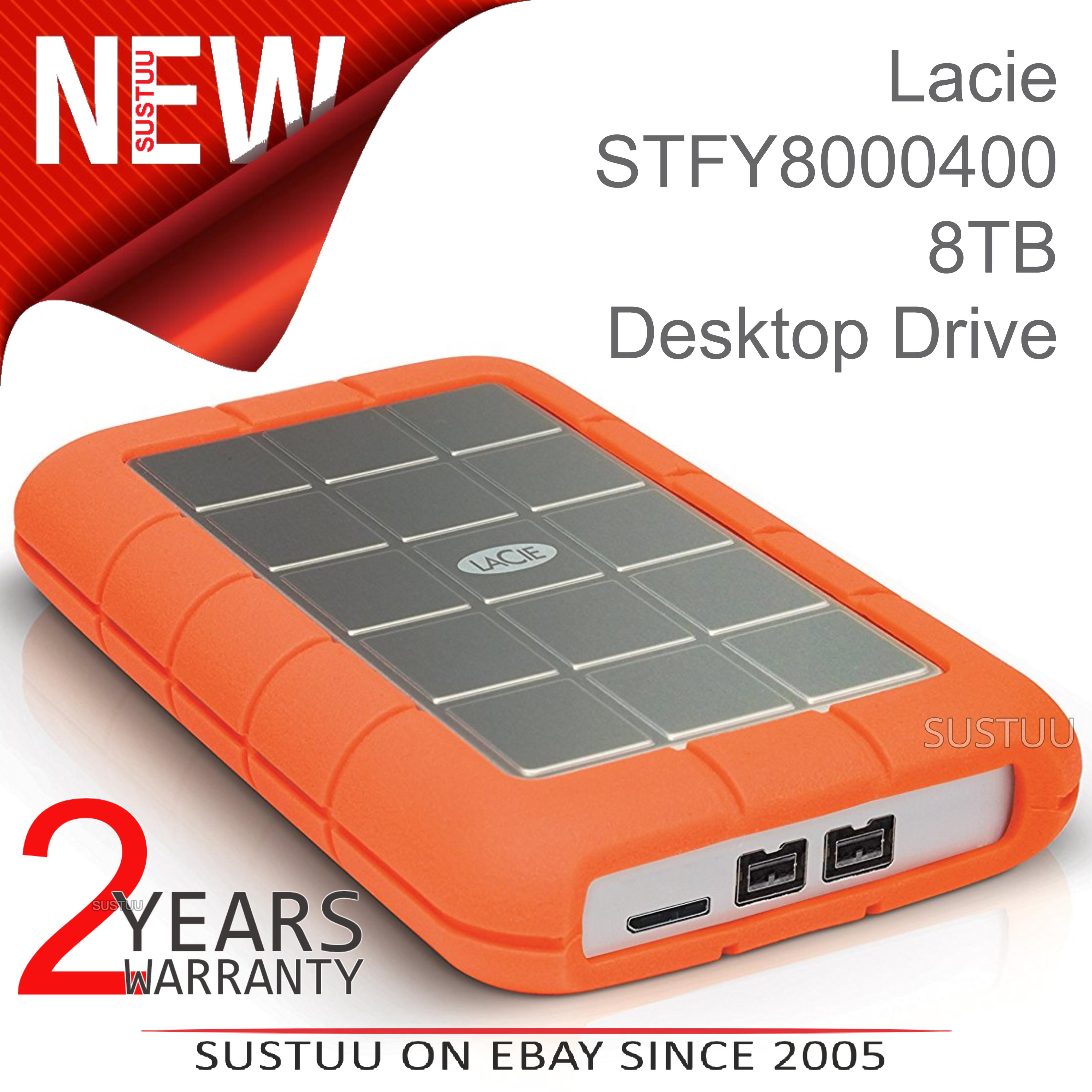Sentinel Lacie Rugged Triple 1tb Usb 3 0 External Hard Drive Disk Firewire 800 Pc