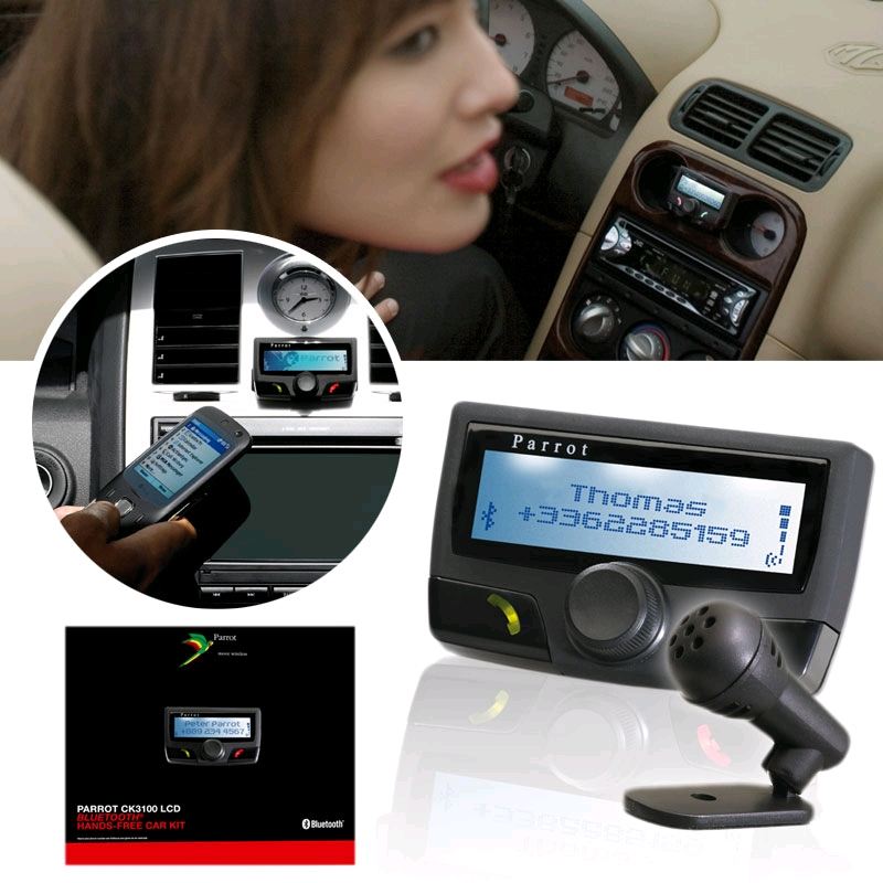 parrot k3100 uk mains libres kit bluetooth de voiture pour t l phone mobile ebay. Black Bedroom Furniture Sets. Home Design Ideas