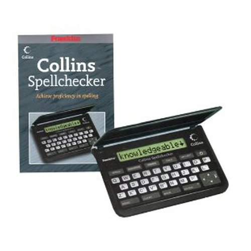 Franklin SPQ109 Collins Pocket Speller Electronic Spell Checker Crossword Solver