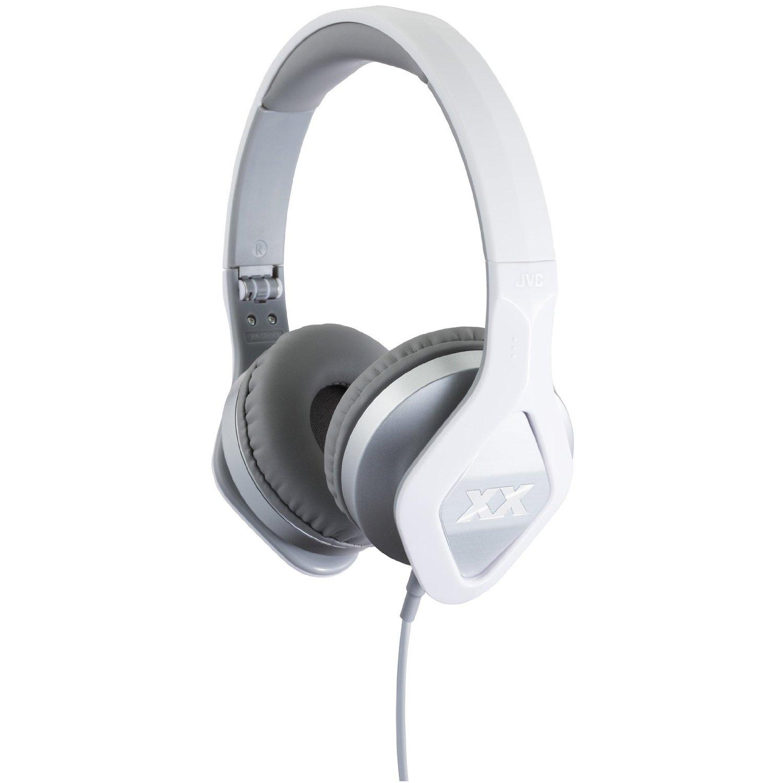 JVC XX Club on ear Elation Series Headphones with Mic & Remote HA-SR100X Silver