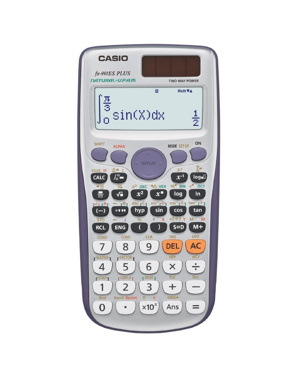 Casio FX991ESPLUS Exam GCSE A-Level Scientific Calculator Trigonometry Stats