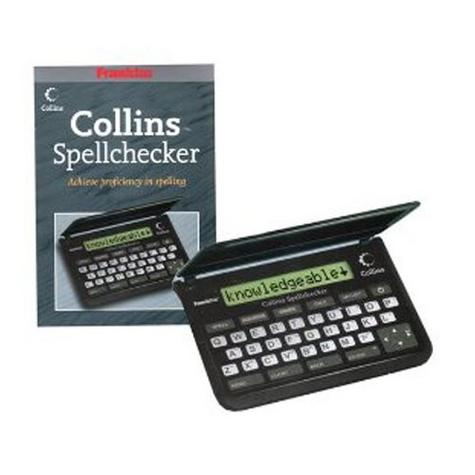 Franklin SPQ109 Collins Pocket Speller Electronic Spell Checker Crossword Solver Thumbnail 1