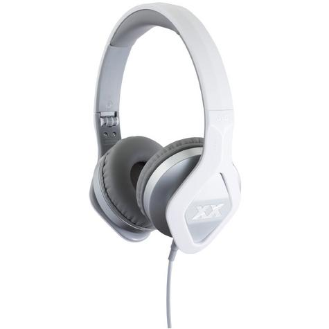 JVC XX Club on ear Elation Series Headphones with Mic & Remote HA-SR100X Silver Thumbnail 1