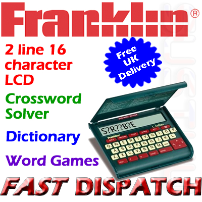 Franklin SCM319 Electronic Scrabble Master Dictionary
