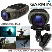 "Garmin VIRB® Elite Dark|1.4""Display 1080p HD Action Camera