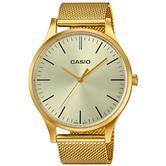 Casio Unisex Classic Collection Gold Bracelet Vintage Watch LTP-E140G-9AEF
