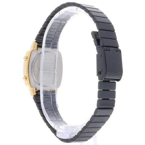 Casio Ladies' Digital Watch?Gold Plated Retro Shape-Black Dial?LA670WEGB-1BEF Thumbnail 5