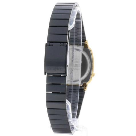 Casio Ladies' Digital Watch?Gold Plated Retro Shape-Black Dial?LA670WEGB-1BEF Thumbnail 6