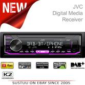 JVC Car Van Digital Stereo|USB/AUX/Bluetooth/DAB|Direct iPod/iPhone|KD X451DBT