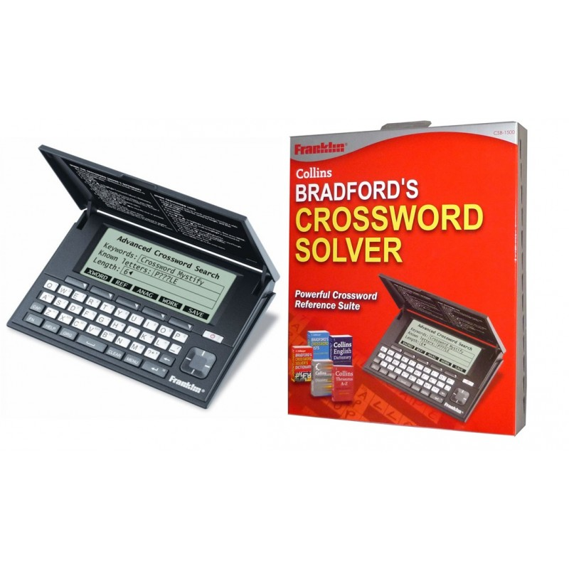 Franklin CSB1500 Bradford Electronic Crossword Puzzle Solver Dictionary NEW  sc 1 st  Sustuu & Franklin CSB1500 Bradford Electronic Crossword Puzzle Solver ... 25forcollege.com