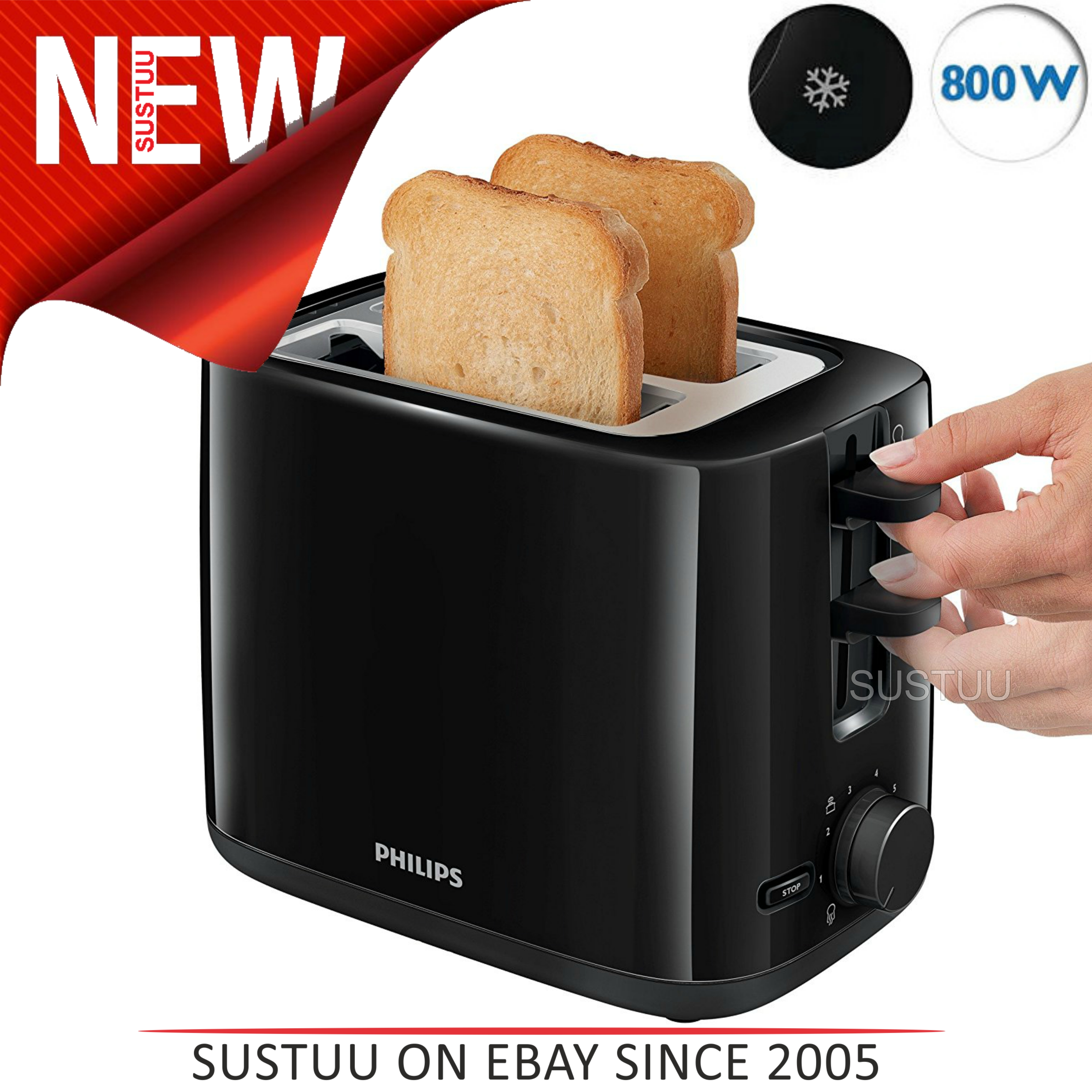 today toaster overstock home black free garden product decker shipping slice