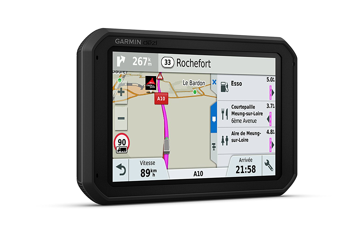 garmin dezl 780lmt d lkw navi gps bluetooth. Black Bedroom Furniture Sets. Home Design Ideas