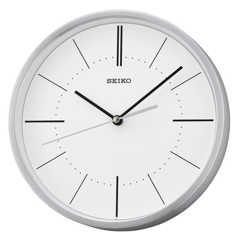 Seiko Qxa715s Quiet Sweep Second Hand Aluminium Silver