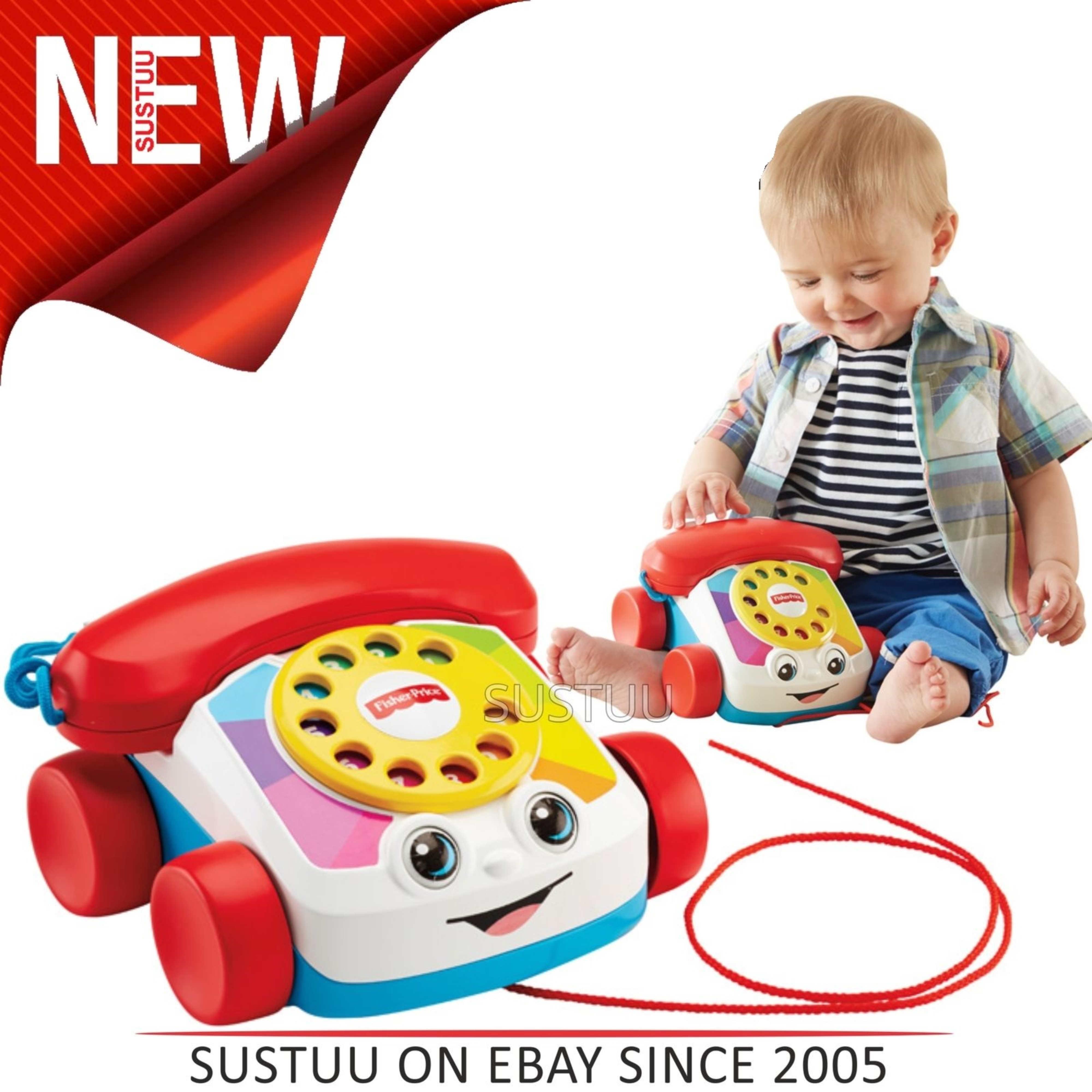 Fisher Price Chatter Telephonebaby Plapper Phonefun Ringing