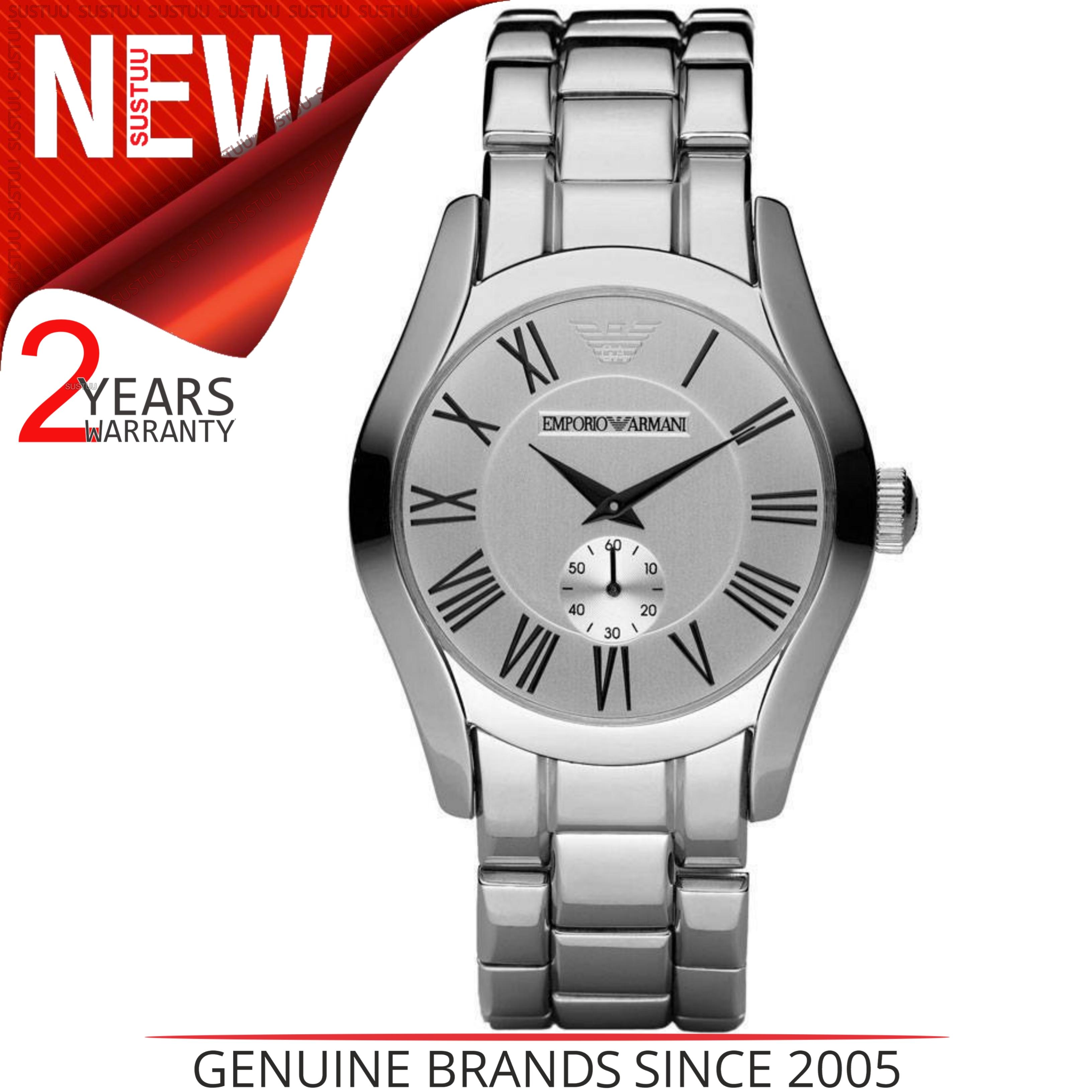 SENTINEL Watch│Silver Dial│Stainless design Strap│AR0647 Emporio Armani  classico maschile a1707a8e05