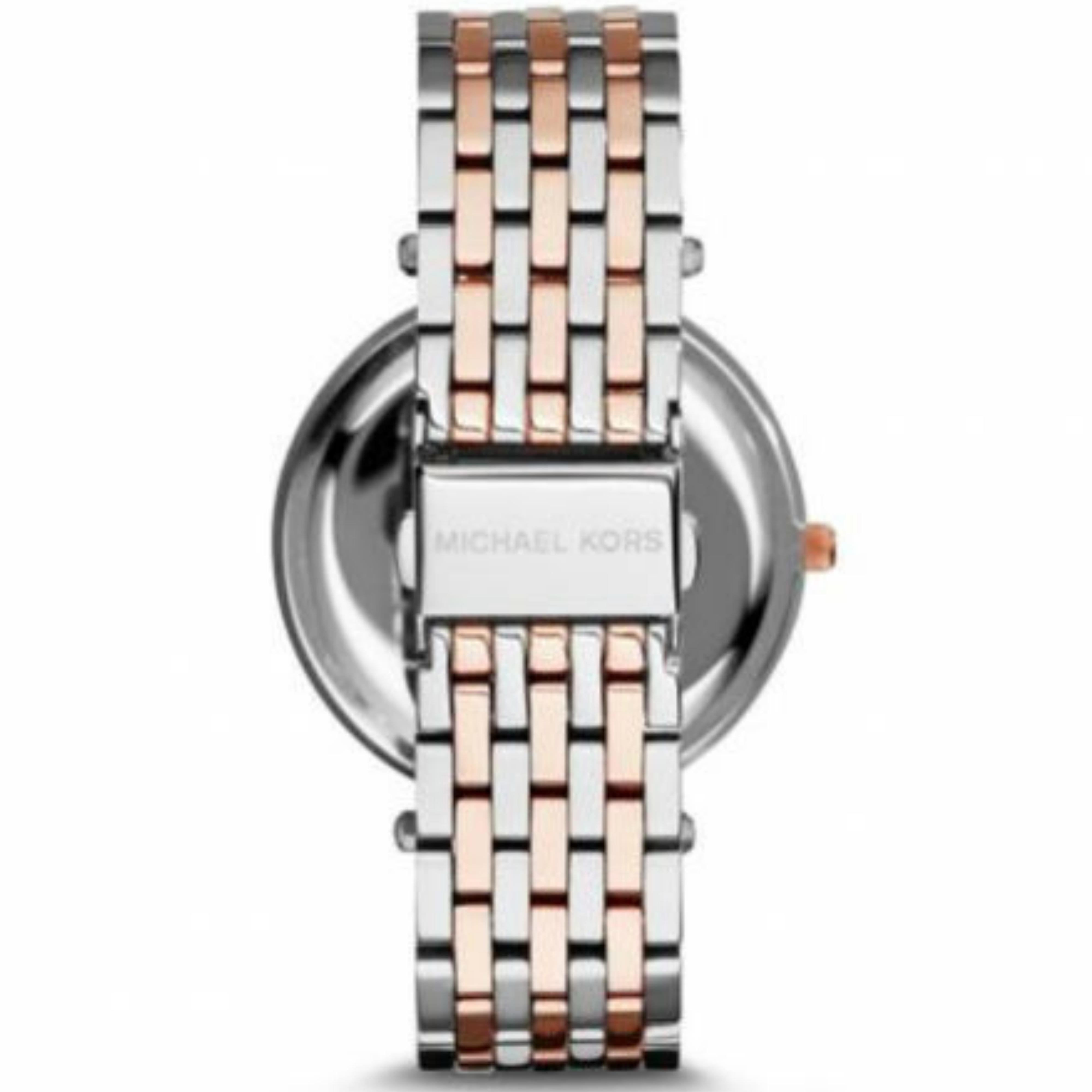 b18be8dc958f Sentinel Michael Kors Darci Women s Fashion Watch│Round Purple Dial│Two  Tone Strap│MK3353