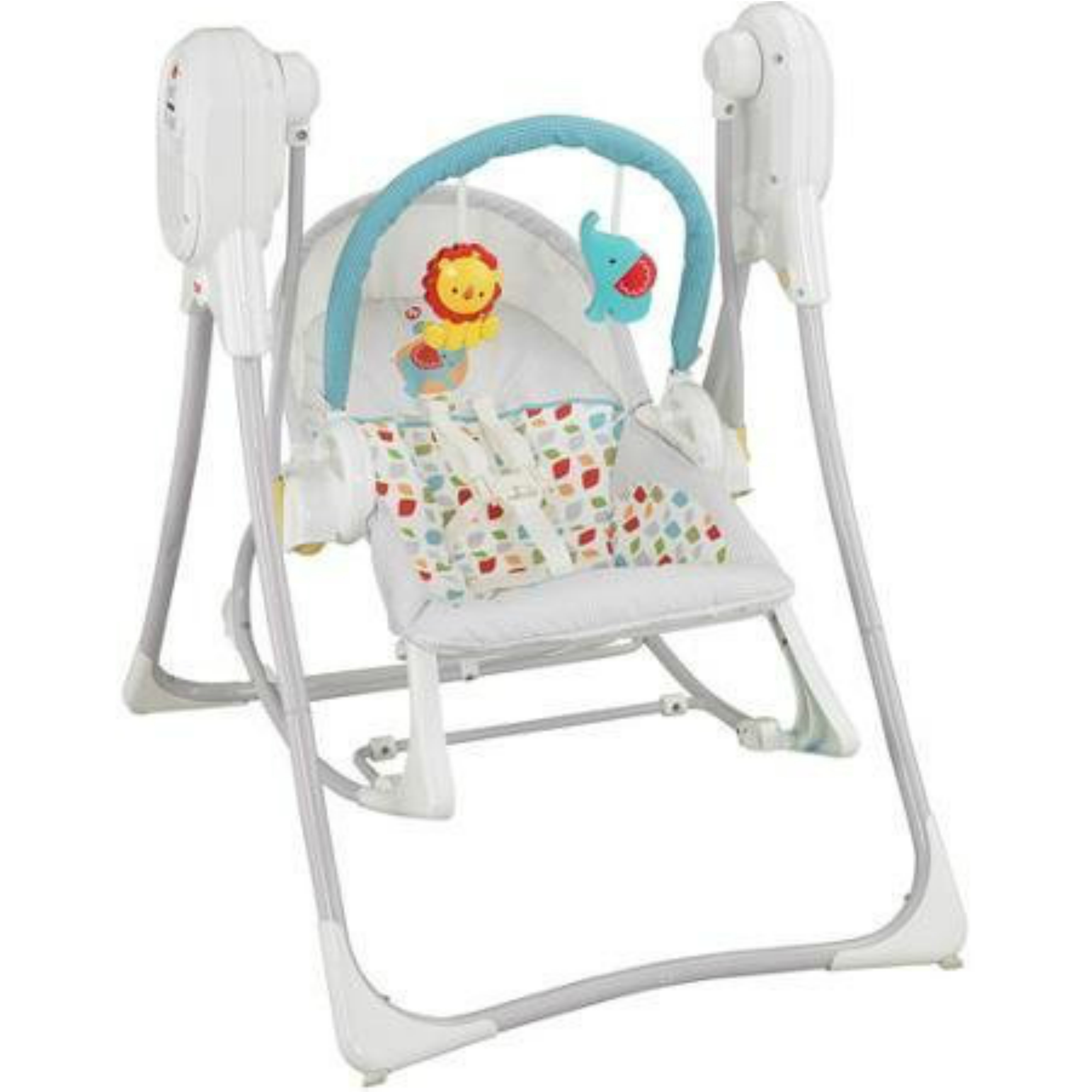 Fisher Price 3 In 1 Swing N Rocker│infant Seat│nature