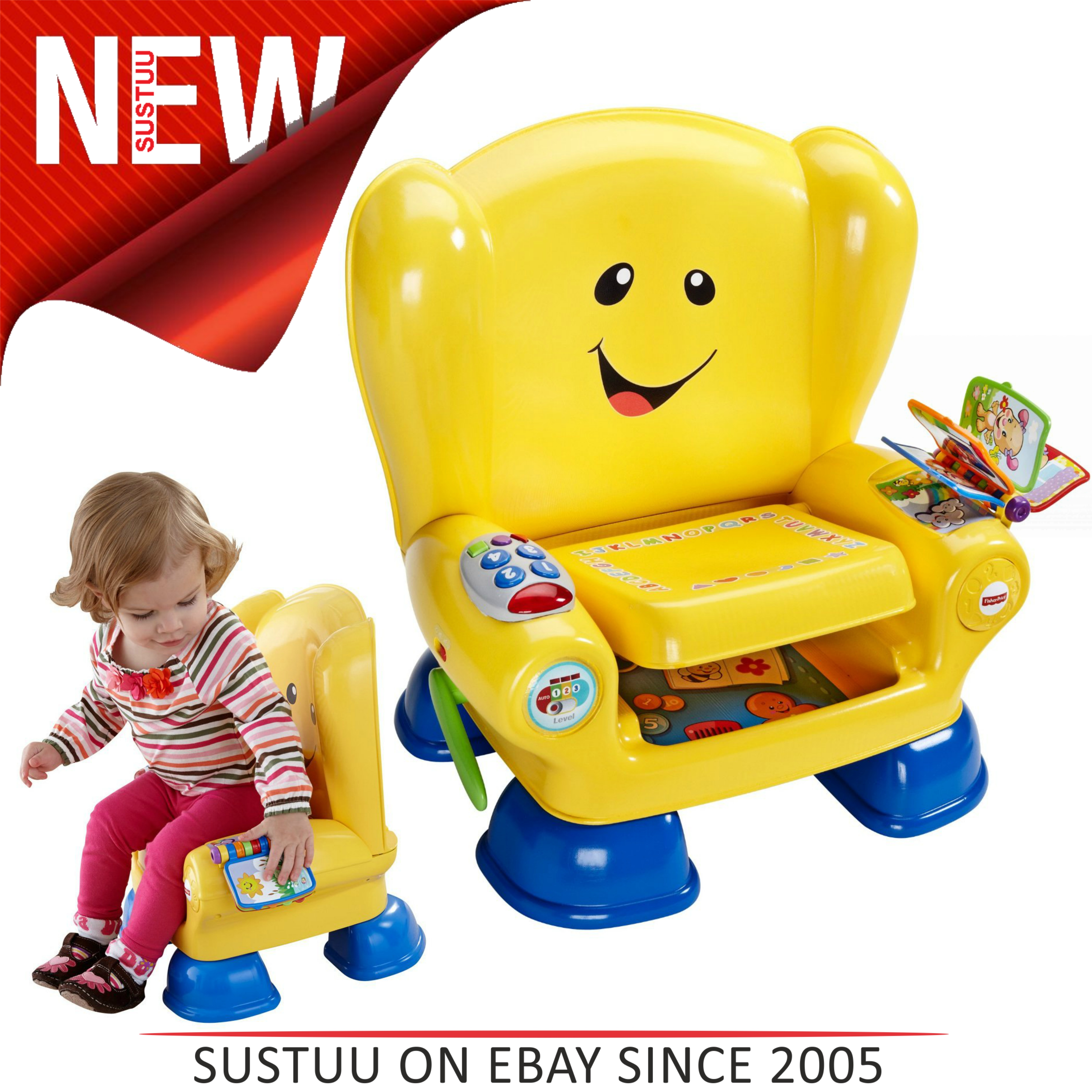 Fisher Price Laugh & Learn Smart Stages Baby Musical Activity Chair