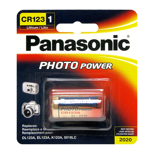 cr123a panasonic photo lithium battery new sealed 3v cr17345 dl123a cr123 sustuu. Black Bedroom Furniture Sets. Home Design Ideas