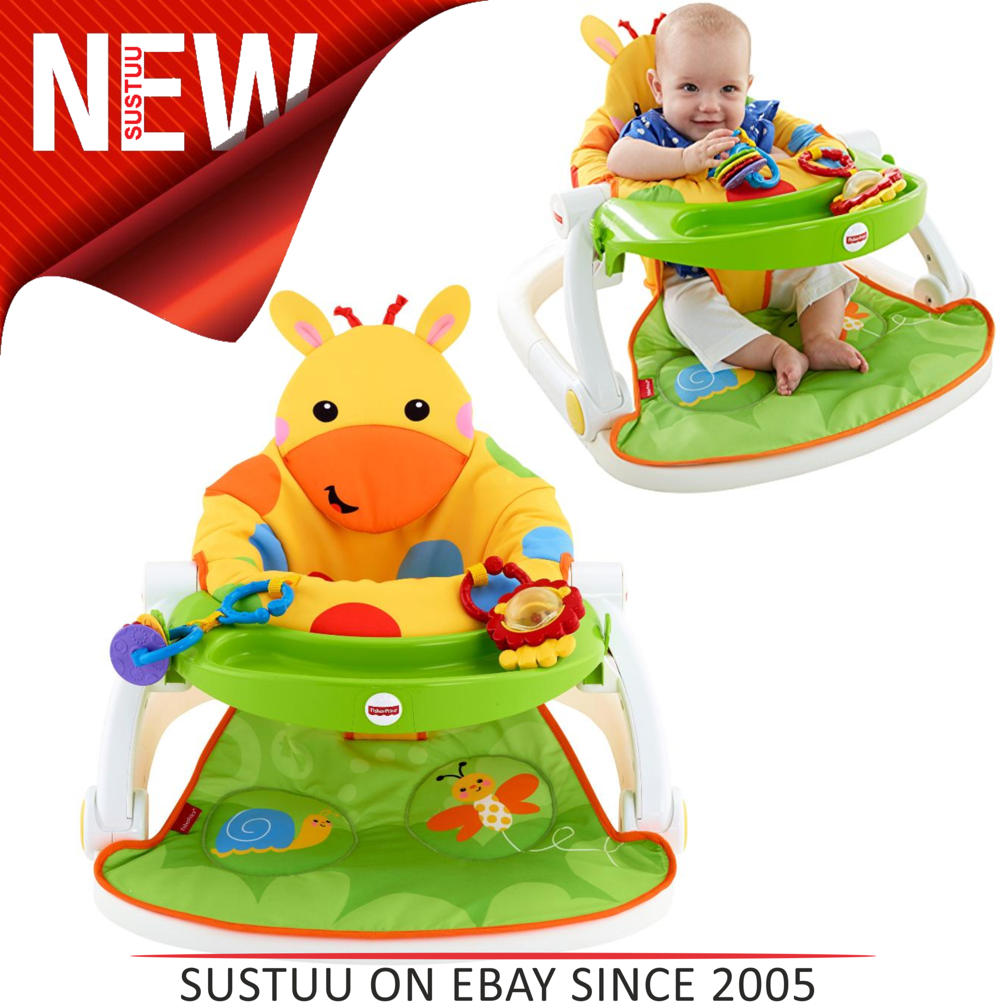 Fisher Price Sit-me-up Floor Seat Modern Techniques Other