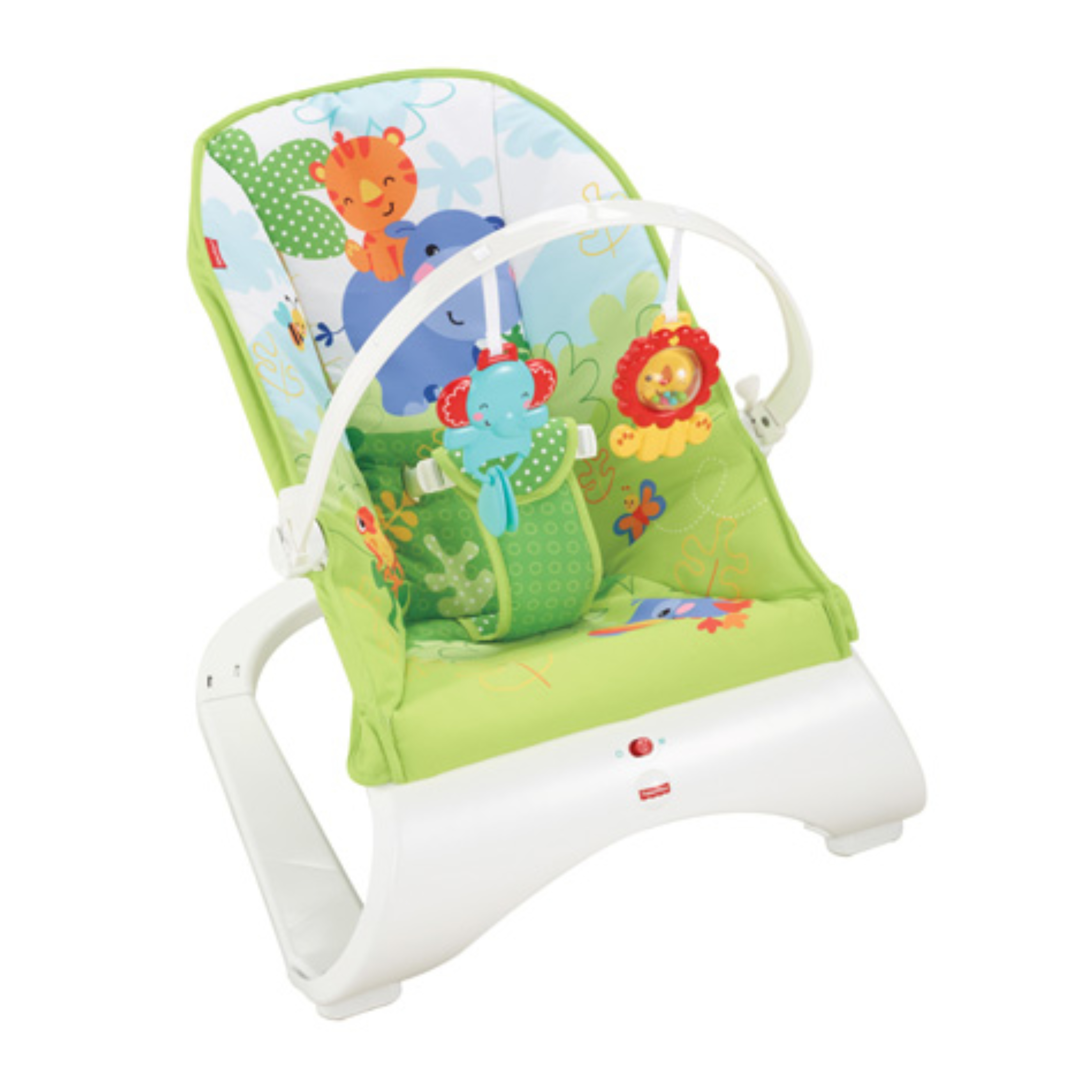 Baby Swings Baby Gear Fisher-price Rainforest New-born Baby Bouncer/rocker/chair With Vibration+toybar