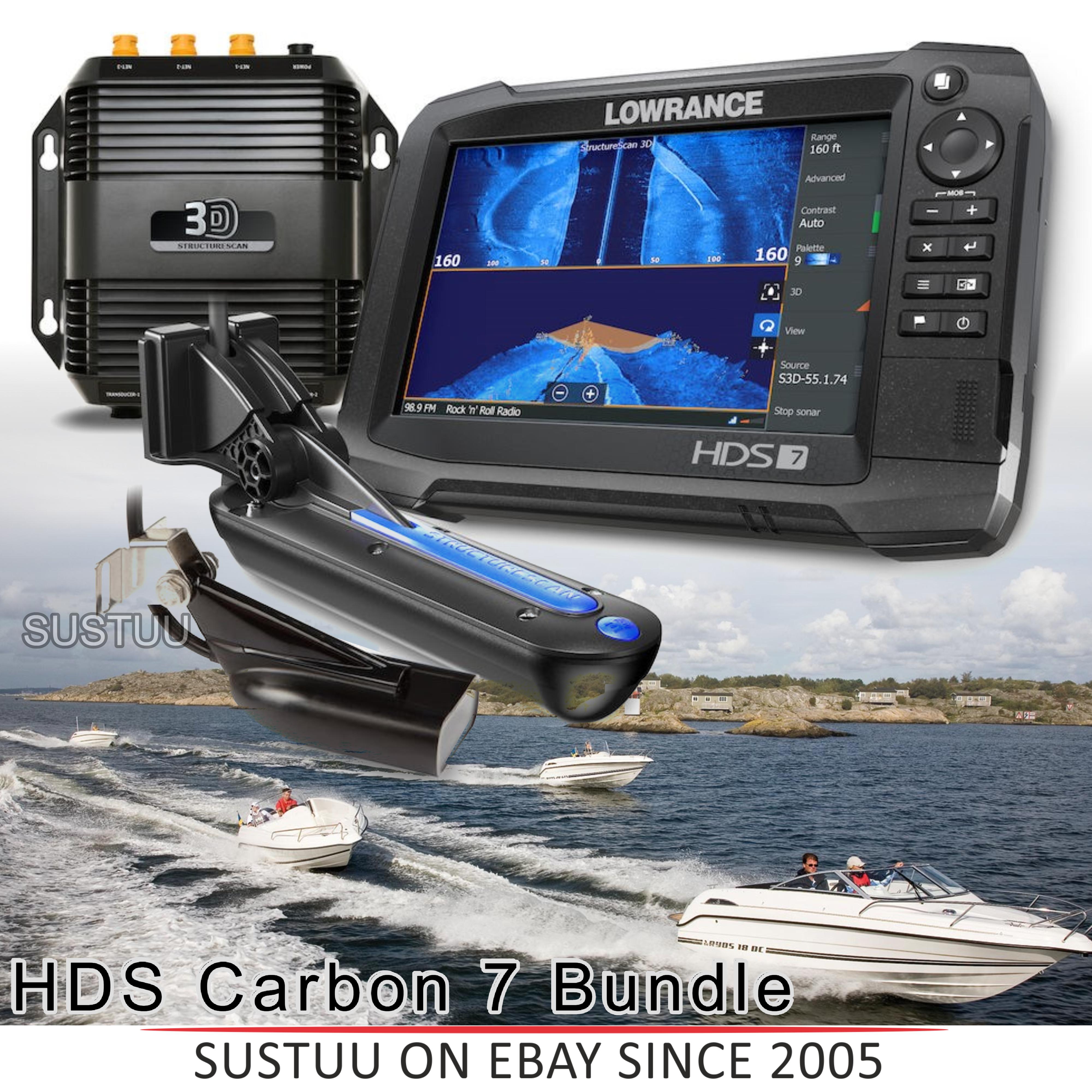 Lowrance HDS-7 Carbon MFD & Skimmer/ StructureScan 3D