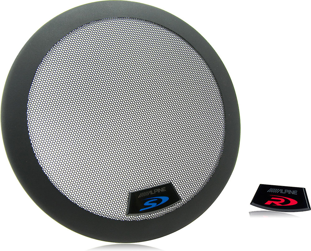 12 Quot Subwoofer Grill ~ Alpine kte g quot grill for type s r subwoofers swr