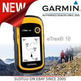 Garmin eTrex 10 Outdoor Handheld GPS Receiver with Worldwide Basemap NEW