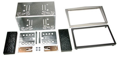 C2 23VX06 Car Stereo Double Din Fascia Plate Adaptor Kit Vauxhall Astra/Zafira Thumbnail 1
