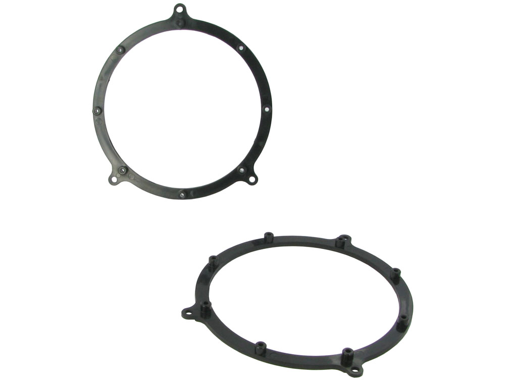 NEW C2 25AU02 Pair Of Rear Door Adaptor Ring For Car Speaker Audi A3/A4/A6/TT