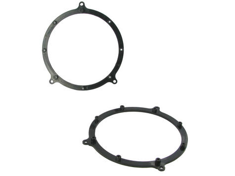 NEW C2 25AU02 Pair Of Rear Door Adaptor Ring For Car Speaker Audi A3/A4/A6/TT Thumbnail 1