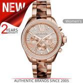 Michael Kors Wren Ladies Watch|Crystal Dial|Tortoise Shell Acetate Bracelet|6159